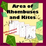 Area of Rhombus and Kite