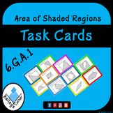 Area of Shaded Regions Task Cards