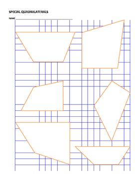 Area of Special Quadrilaterals