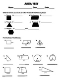 Area of Square, Parallelogram, Triangle, Trapezoid, Polygo