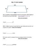 Area of Trapezoid, Geometry, Word Problems, Test Prep