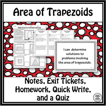 Area of Trapezoids