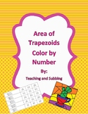 Area of Trapezoids Color by Number