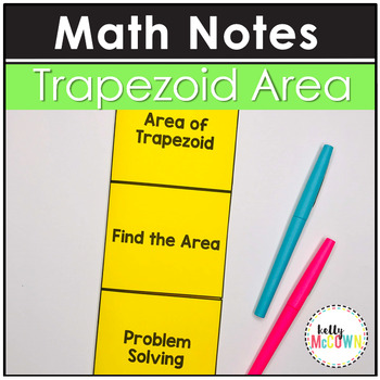 Area of Trapezoids Notes