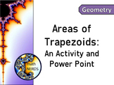 Area of Trapezoids: Shape Building Activity
