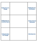 Area of Triangle and Parallelogram Foldable