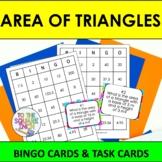 Area of Triangles Bingo