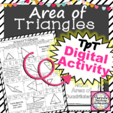 Area of Triangles Color by Solution