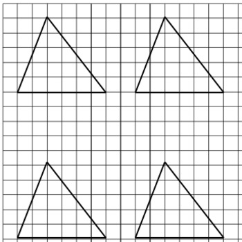 Area of Triangles Interactive Notebook Foldable