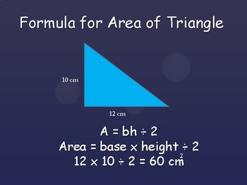 Area of Triangles Lesson - Introduction, Practice