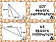 Area of Triangles Matching Card Set  - This set only includes Whole Numbers.