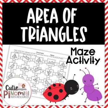 Area of Triangles - Maze
