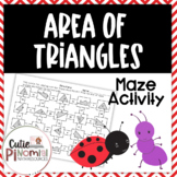 Area of Triangles - Maze