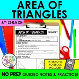 Area of Triangles Notes