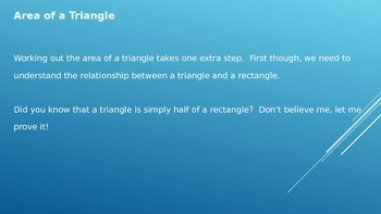 Area of Triangles PowerPoint