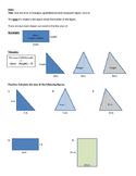 Area of Triangles/Quadrilaterals/Composites