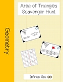 Area of Triangles Scavenger Hunt