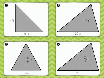 Area of Triangles Scoot