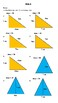 Area of Triangles Worksheets