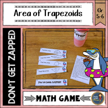 Area of Triangles Don't Get ZAPPED Math Game