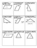 Area of Triangles and Parallelograms Challenge