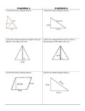 Area of Triangles and Parallelograms Partner Activity