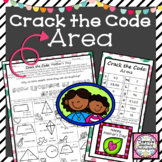 Area of Triangles, Circles and Quadrilaterals Activity Crack the Code