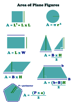 Area of a 2D Shape 18x24