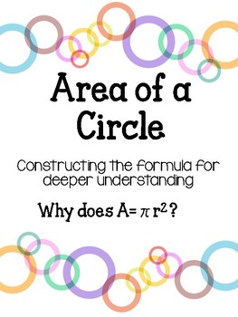 Area of a Circle: Formula activity
