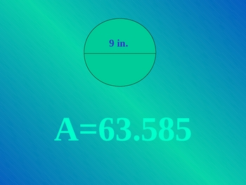 Area of a Circle PPT