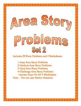 Area of a Circle Story Problems Set 2