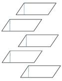 Area of a Parallelogram CutOut