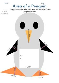 Area of a Penguin