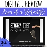 Area of a Rectangle Review Game Stinky Feet