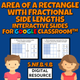 Area of a Rectangle with Fractional Side Lengths Interacti