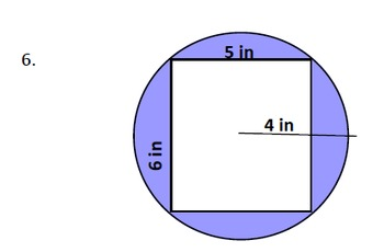 Area of a Shaded Region Quiz/Worksheet
