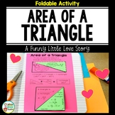 Area of Triangles Activity Foldable with Formula Options