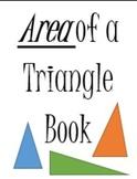 Area of a Triangle Mini Book