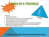 Area of a Triangle Powerpoint