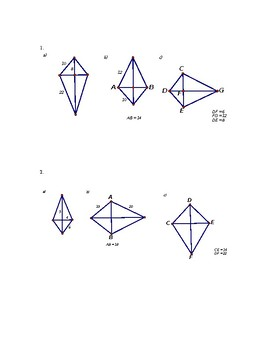Area of a kite