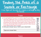Area of a Square Hyperdoc