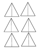 Area of a triangle cut-out