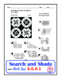 Area of an Irregular Figure Coloring Search and Shade