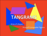 Area of composite figures-area of shapes-tangrams