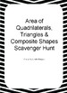 Area of quadrilaterals, Triangles & Composite Shapes Scave