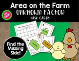 Area on the Farm: Unknown Factor (Find the Missing Side)