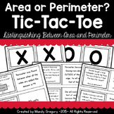 Area or Perimeter? Tic-Tac-Toe Activity