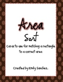 Area sort/game