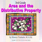 Common Core 3rd - Area & the Distributive Property