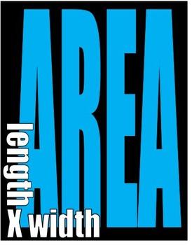 Area vs. Perimeter Posters